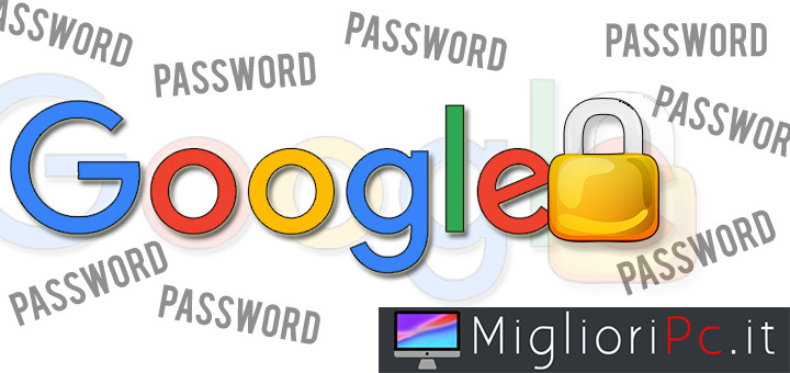 google rimuove password