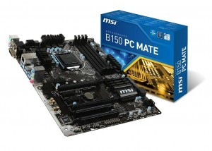 configurazione gaming 800 euro - msi b150 pc mate