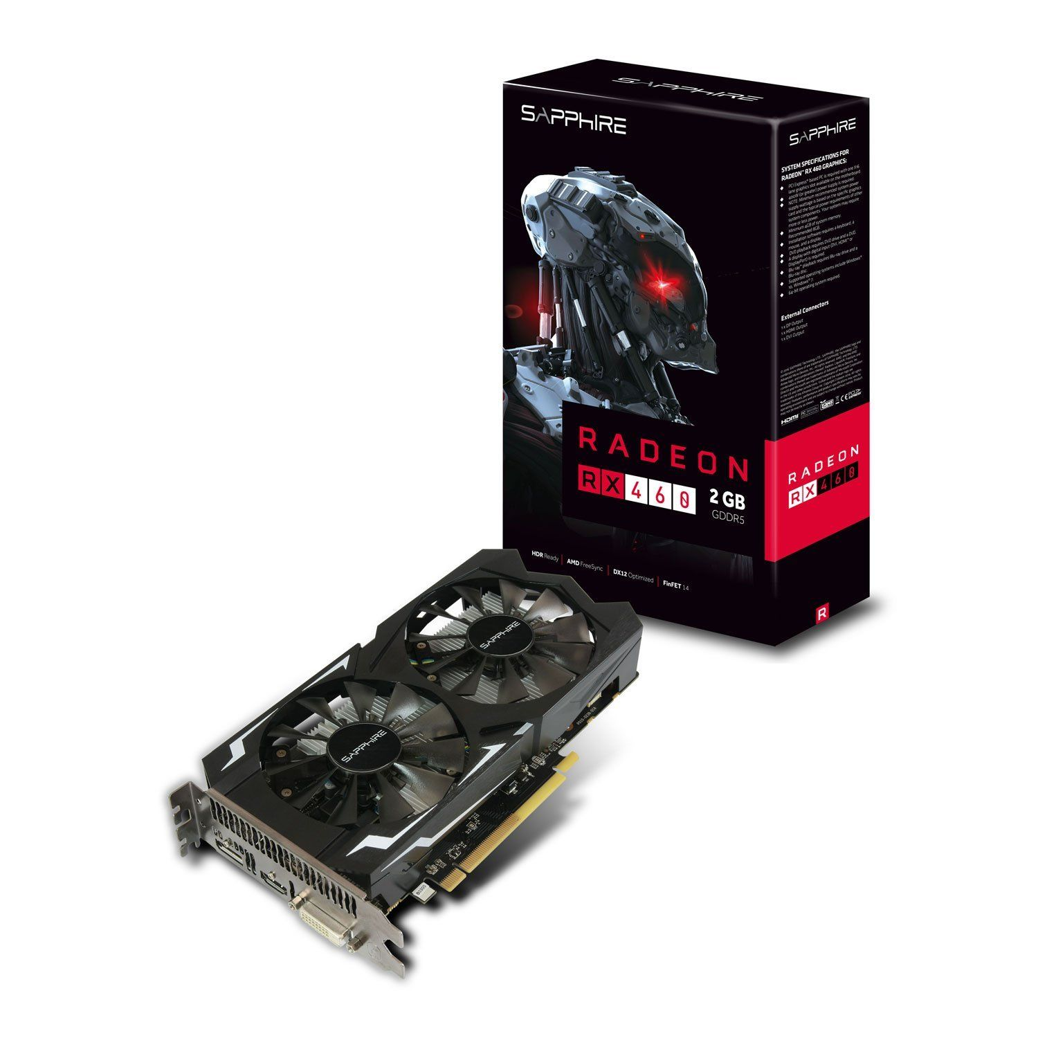 classifica schede video rx 460 sapphire amd