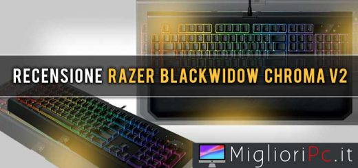 recensione razer blackwidow chroma v2