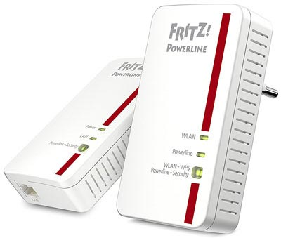 Ripetitore wifi AVM FRITZ!Powerline 1240E