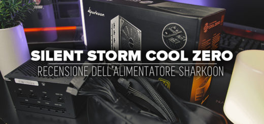 SILENT-STORM-COOL-ZERO - recensione alimentatore sharkoon