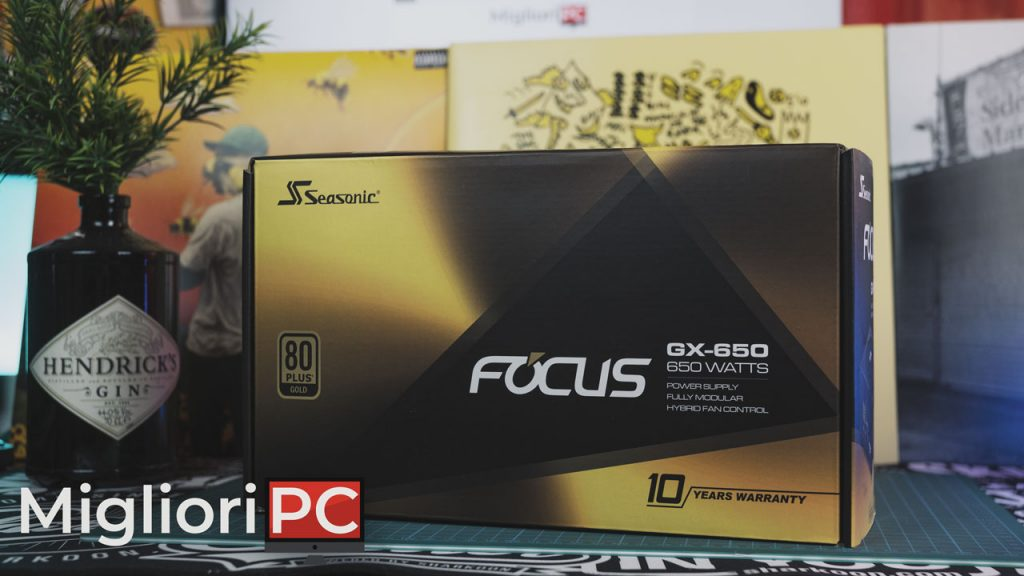 Seasonic Focus Gold GX650 Specifiche tecniche